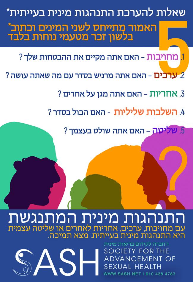 5 Questions in Hebrew